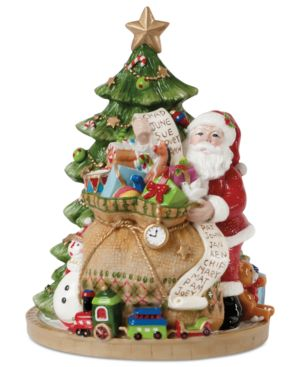 Fitz and Floyd Figurine Gifts from Santa Musical Collectible Figurine 926845