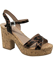 Departed Wedge Sandals