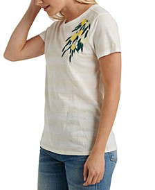 Lemon Embroidered T-Shirt