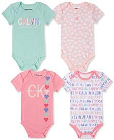Baby Girls Bodysuits Set