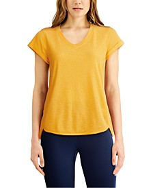 Rolled-Cuff T-Shirt