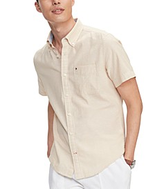 Men's Custom-Fit Peter Solid Shirt