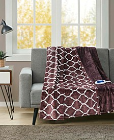 Oversized Ogee Electric Throw