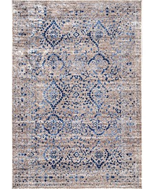 Amber Kylie Faded Vintage-Inspired Area Rug