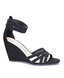 Clarissa Wedge Dress Sandals