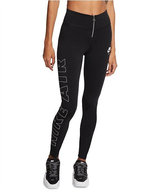 Nike Women's Air Zip Logo Leggings
