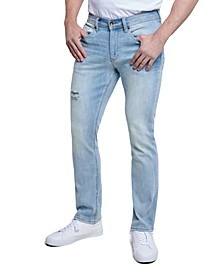 Men's Slim Straight Cut 5 Pocket Jean