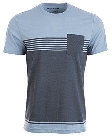 Men's Chest Stripe Pocket T-Shirt, Created for Macy's