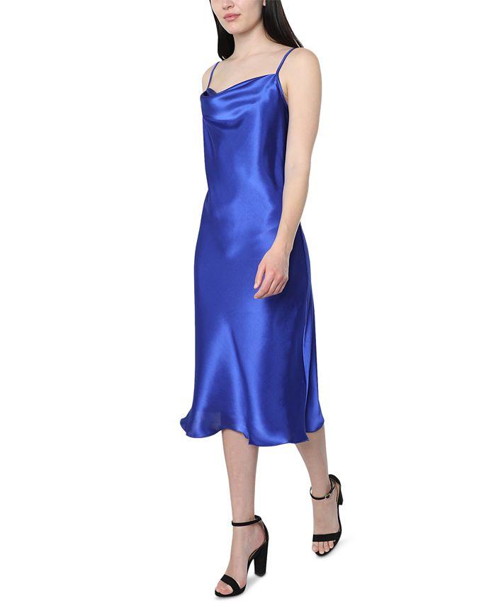 bebe - Juniors' Satin Slip Dress