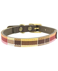 Myrtle Leather Dog Collar, Small