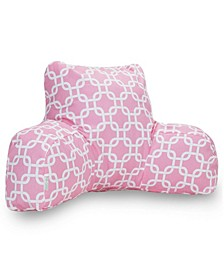 """Links Comfortable Soft Reading Pillow with Removable Cover 33"""" x 18"""""""