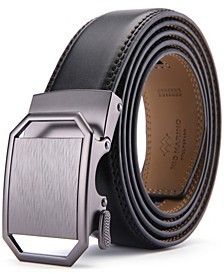 Men's Solid Buckle Ratchet Belts