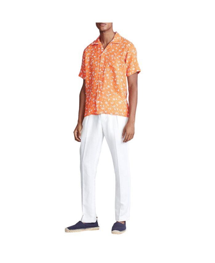 Polo Ralph Lauren Men's Classic-Fit Linen Shirt & Reviews - Casual Button-Down Shirts - Men - Macy's