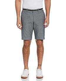 "Men's Grosgrain Trim Oxford 10"" Shorts"