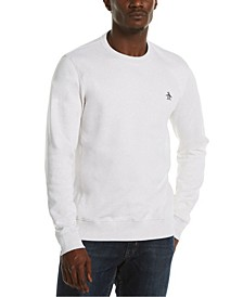 Men's Sticker Pete Fleece Crew Neck Sweater