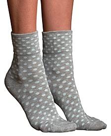 Women's Teeny Tiny Silk Anklet Socks