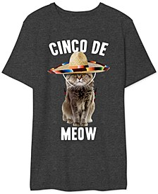 Cinco De Meow Men's Graphic T-Shirt