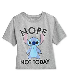 Juniors' Stitch Not Today Graphic T-Shirt