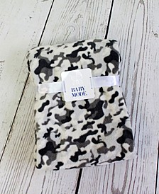 Baby Mode Plush Camo Baby Blanket