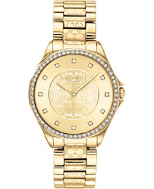 Women's Astor Gold-Tone Stainless Steel Bracelet Watch 31mm
