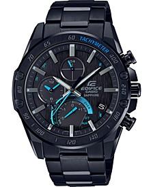 G-Shock Men's Solar Connected Black Stainless Steel Bracelet Watch 45.6mm