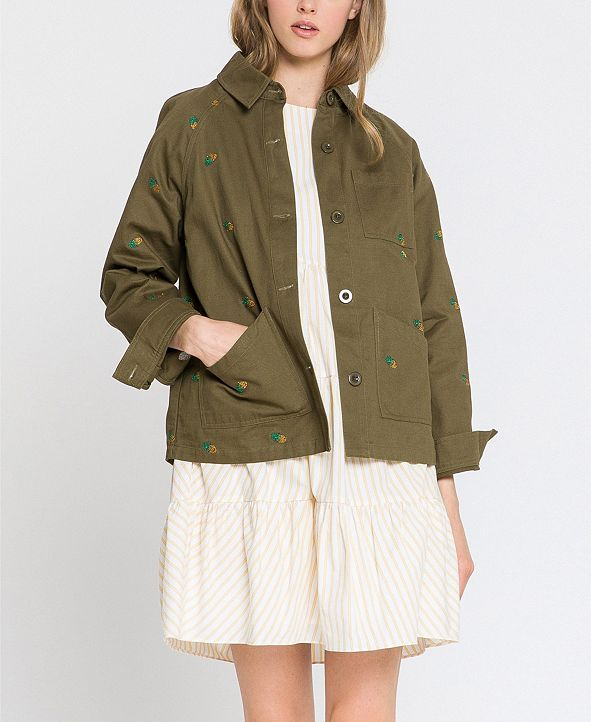 English Factory Embroidery Jacket