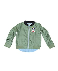 Toddler Boys Bomber Jacket