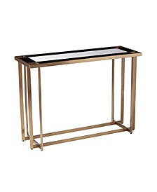 Tarlynn Contemporary Mirrored Console Table