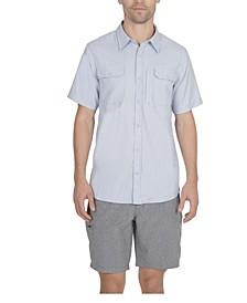 Men's 3 Pocket Sun Protection Button Down Performance Shirt