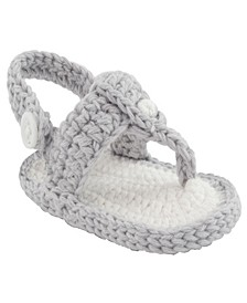 Baby Girls Crochet Thong Sandal