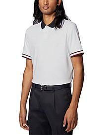 BOSS Men's Parlay 60 White Polo Shirt