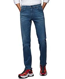 BOSS Men's Maine Medium Blue Jeans