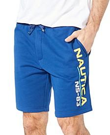 Men's NS-83 Classic-Fit Logo-Print Knit Shorts
