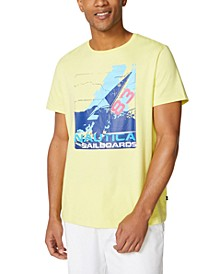 Men's Sailboat Logo Graphic T-Shirt