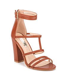Olivia Miller Women's Sensual Block Sandals