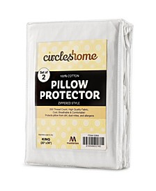 Pillow Protectors, King - 2 Pieces