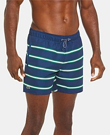 Men's Heritage Ribbon Stripe Lightweight Swim Trunks