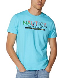 Men's Sailing Team Logo Graphic T-Shirt