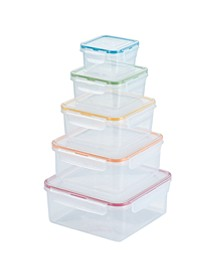 Easy Essentials 10-Pc. Food Storage Set, Created for Macy's