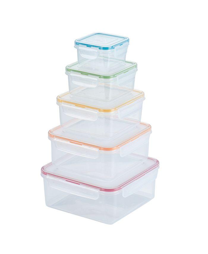 Lock n Lock - Easy Essentials 10-Pc. Food Storage Set