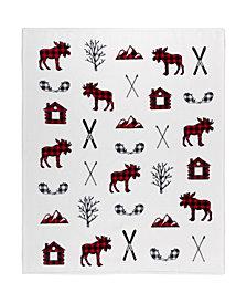 Safdie & Co. Inc Printed Ribbed Flannel Throws