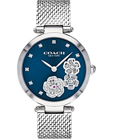 Women's Park Stainless Steel Mesh Bracelet Watch 34mm