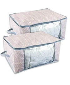 Chevron Soft Storage Set of 2