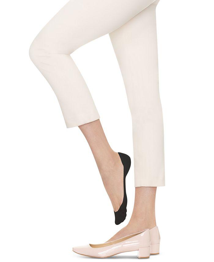 Hanes - Women's 6-Pk. Silk Reflections Sheer Liner Socks