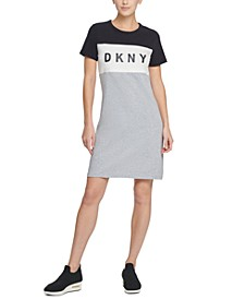 Sport Colorblocked Logo T-Shirt Dress