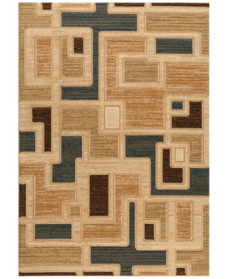 """CLOSEOUT! Area Rug Northport J101 Blue 7'10"""" x 10'10"""""""