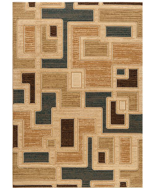 """Kenneth Mink CLOSEOUT! Area Rug Northport J101 Blue 7'10"""" x 10'10"""""""