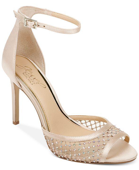 Jewel Badgley Mischka Nakisha Ankle-Strap Dress Sandals