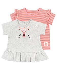 Baby Girl 2-Pack Tees