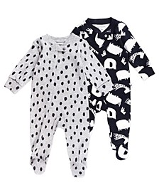 Baby Boys & Girls 2-Pack Sleepsuits